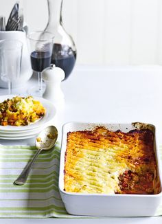 Spiced shepherd's pie with parsnip mash - make a healthier version of a family favourite. Shepherd's pie is made with lamb's mince and this easy recipe, is topped with a creamy parsnip mash. Good weekend comfort food.