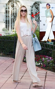 Nicole Richie Summer Look for Less