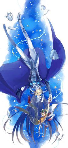 Yu-Gi-Oh! - Yuya and Stargazer Magician