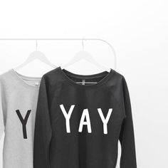 Yay! Our sweaters make the perfect accessory for autumn...