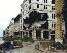 """Beyrouth"", 1991, by Gabriele Basilico"