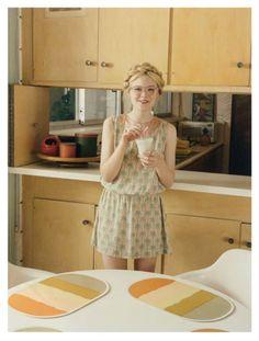 Elle Fanning for Self Service Magazine