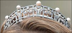 Princess Claire's pearl and diamond tiara (Belgium).