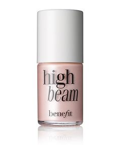 High beam by benefit is the product I use EVERYDAY to give my eyes a finished look ! I apply it under my eyebrow, on my Cupid's bow and depending on what foundation I am wearing I sometimes put this on top of my albatross highlighter on my cheek bones -A