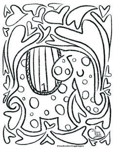 Free Coloring Pages — Tracey Wirth Designs Free Coloring Pages, Surface Pattern Design, Elephant, Elephants, Free Colouring Pages