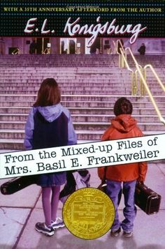 From the Mixed-Up Files of Mrs. Basil E. Frankweiler , by E. Konigsburg - and 37 other Perfect Books To Read Aloud With Kids Best Children Books, Childrens Books, Children Reading, Love Book, This Book, Books To Read, My Books, Books For Tweens, History Quotes