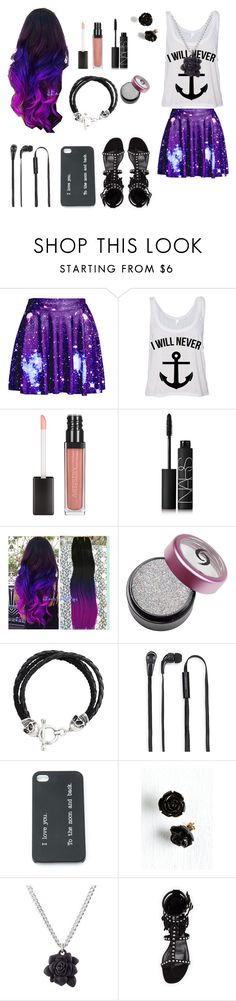 """""""This Game Reader outfit"""" by freaky-weirdo-girl ❤ liked on Polyvore featuring NARS Cosmetics, Icon, Merkury Innovations, Marc by Marc Jacobs and Yves Saint Laurent"""