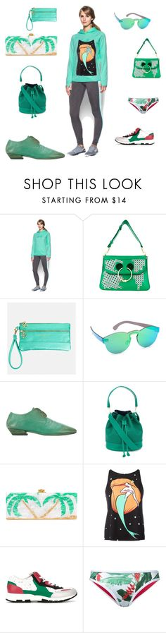 """""""Fashion spring"""" by emmamegan-5678 ❤ liked on Polyvore featuring Under Armour, J.W. Anderson, Avenue, RetroSuperFuture, Marsèll, Elizabeth and James, Edie Parker, Boutique Moschino, Lanvin and Duskii"""