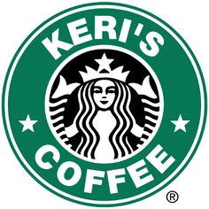 Fun Website that you can customize your own starbucks logo! I'm sure I can use this with the silhouette somehow!