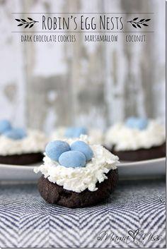 Sweets: Robin's Egg Nests
