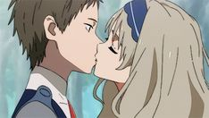Shared by Naho. Find images and videos about gif, anime and anime girl on We Heart It - the app to get lost in what you love. Anime Ai, Manga Anime, Me Me Me Anime, Anime Love, Photo Couple Amoureux, Querida No Franxx, Anime Shop, Anime Gifts, Film D'animation