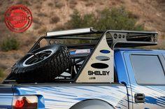 Addictive Desert Designs Over Cab Chase Rack (w/ Tire Carrier) for your 2010-2014 SVT Raptor.