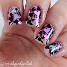 valentine by ermahgerdperlish #nail #nails #nailart