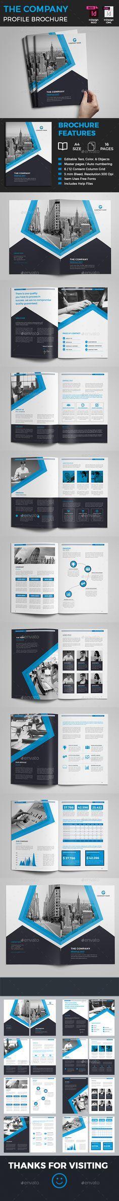 Company Profile - #Corporate #Brochures Download here:  https://graphicriver.net/item/company-profile/19595549?ref=alena994
