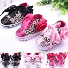 Toddler Baby  Girls Shoes Floral Leopard Sequin Infant Soft Sole First Walker Cotton Shoes -  Color:Black/Pink/Rose Red Style:Baby Sneaker Material:Cotton Blend Boot Type:Casual Patterns:Leopard Features & Fastening:Laces Size:1(11)/2(12)/3(13) Size Recommended Age Sole Length Sole Width 1(11) 0-4M 11CM/4.3″ 5.3CM/2.09″ 2(12) 5-8M 12CM/4.7″... - http://progres-shop.com/toddler-baby-girls-shoes-floral-leopard-sequin-infant-soft-sole-first-walker-cot