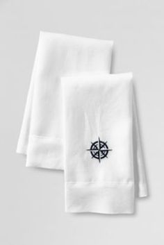 compass earth embroiderd on textil,handkerchief