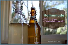 Homemade Conditioner For Hair; Homemade conditioner for your hair is inexpensive and easy to make. You will only need two ingredients, an empty bottle, and an adventurous heart.