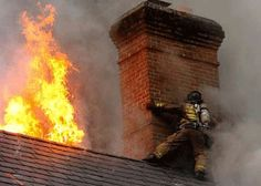 Baltimore City Firefighter in action