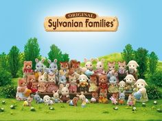 Sylvanian Families/Calico Critters - great girl toys of the 80's<------OMG I remember having these and having no idea what they were called LOL