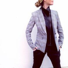 @grettaluxe the Jacket w/ Leather Moto Dickey #wearyourvb