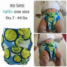 Bump & Baby Event: itti bitti Cloth Diapers Starter Set #newmoms #newborns #diapering #ittibitti