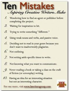 Writing mistakes Mistakes writers make Writing a novel Writing a book Writing tips Creative Writing Tips, Book Writing Tips, Writing Words, Writing Quotes, Fiction Writing, Writing Resources, Writing Help, Writing Prompts, Writing Ideas