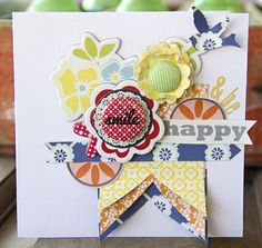 Smile & Be Happy *Lily Bee Design* - Scrapbook.com