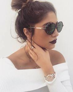 Pensem em um óculos bafônico ❤️ Lançamento da Dior #DiorUmbrage com lentes espelhadas que refletem estampas de folhas