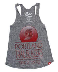 Portland Trail Blazers Women's Malibu Tri-Blend Tank
