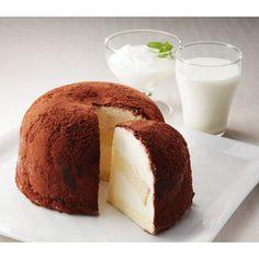 <千葉>成田ゆめ牧場自慢の搾りたて牛乳をふんだんに。【牧場のアイスケーキティラミス】