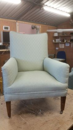 Bedroom Chair With Horsehair Stuffing Reupholstered