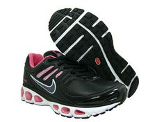 792ee4d1edf702 Nike Air Max 2010 Shoes Womens Leather Black Pink Outlet Store YL3035