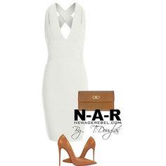 Lemare Dress -White  NewAgeRebel.com