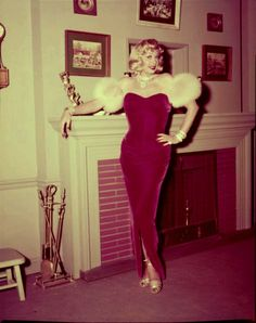 Lucille Ball as Marilyn Monroe - 'I Love Lucy' November 1954