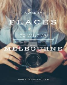 7 awesome places to visit in Melbourne: 7 awesome places to visit in Melbourne Australia… https://www.pinterest.com/pin/441352832218040620/