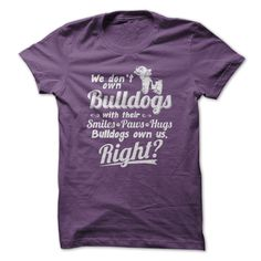 Do you love Bulldogs?  Then this tee and hoodie is for you!    Not sold in stores.