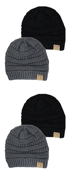 fa014e11ceb Black Knit Hats - Hip Hop Diamond Skull Winter Beanie Hat for Women ...