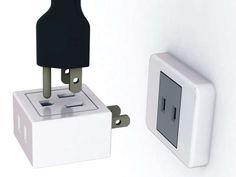 Reconfigurable Power Strips : Socket Like Brick
