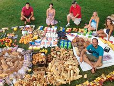"""Activist fuels his bike tour with dumpster food to call attention to Food Waste Fiascos According to Greenfield's website, """"1 in 7 Americans don't have the food they need yet we are throwing away enough food to feed every hungry American five times over!"""""""