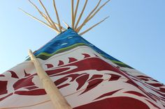 16FT Painted dragon tipi. www.tipi.guru