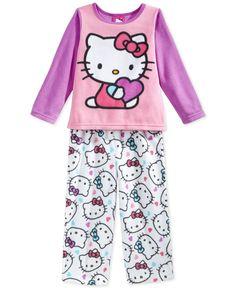 Hello Kitty Toddler Girls' 2-Piece Pajamas