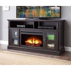 "Whalen Barston Media Fireplace for TV's up to 70, multiple finishes"" for Sale"