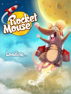 Rocket Mouse - Iphone Game by Burç Pulathaneli, via Behance