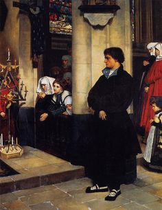 +during-the-service.James Tissot