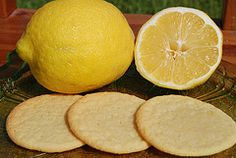 Lemon Tea Cookies - crisp - This sounds pretty close/looks like these amazing lemon thin crispy cookies my mom once had. Perfect w/tea!