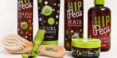 Hip Peas natural kids care products - Packaging by Imaginaria Creative