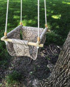 *select style # based on prints in last picture.  Made to order fabric swings are a perfect (and more fashionable!) alternative to those
