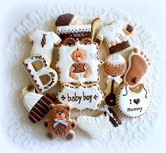 Baby Boy cookie set | Flickr - Photo Sharing!