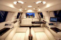 Becker Cadillac Escalade ESV interior AAHHHHH LOVE!!