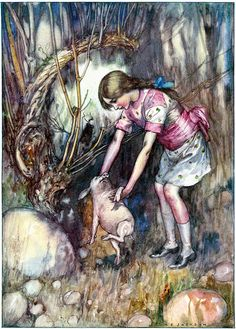 Alice - by A.E. Jackson, 1915 | Flickr